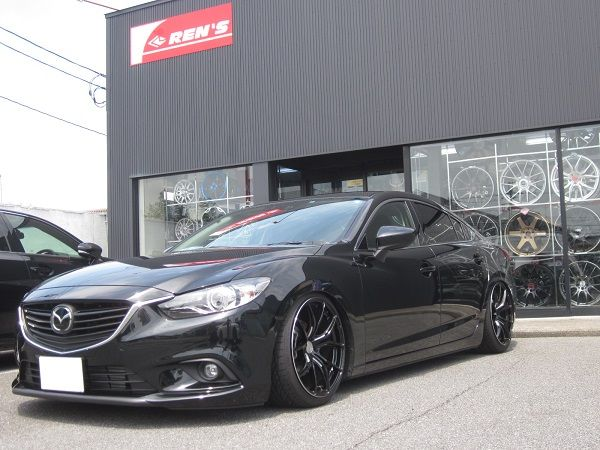 Mazda Atenza (MAZDA 6) on RAYS Gram Lights 57FXX wheels #mazda#rayswheels