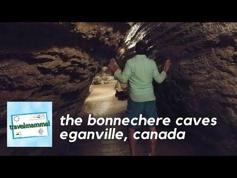 Bonnechere Caves - Eganville, Ontario, Canada - YouTube