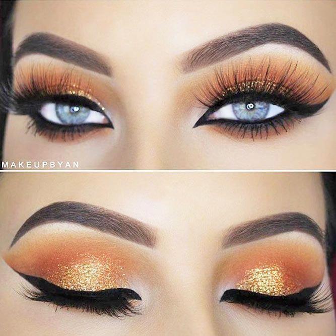 Helpful eye makeup hacks. #naturaleyemak…