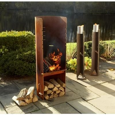 17 Best Images About Fireplaces On Pinterest Rusted