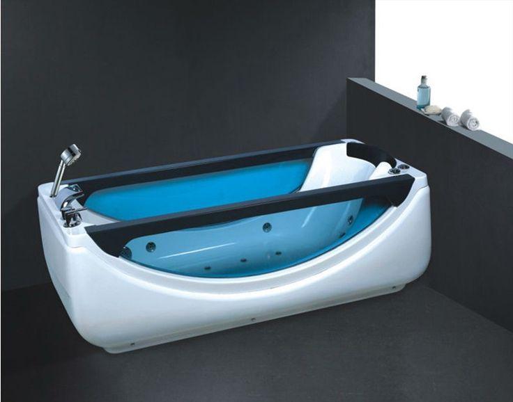 New Design Single Use Bathtubs /two Sided Bathtub Bathtub For Sale  Whirlpool Bathtubs No.