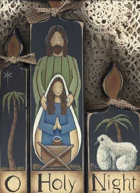 Nativity Pattern - Free decorative painting patterns