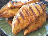 Firehouse BBQ Grilled Chicken {plain chicken} #grilled #chicken #bbq