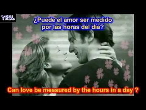 Andy williams - love story  ( SUBTITULADA EN ESPAÑOL & iNGLES )