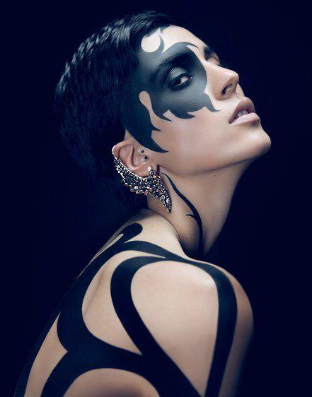 Photo by Julia Pogodina, body painting by Anastasia Durasova