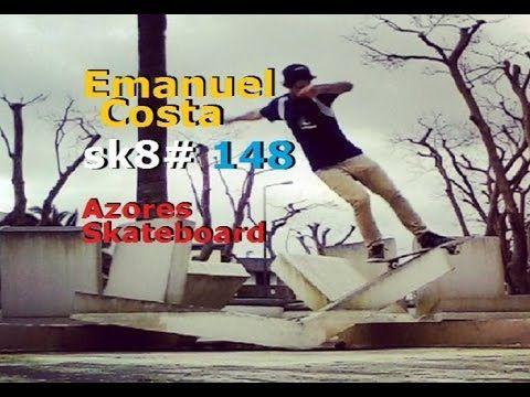 Azores SKATEBOARD Emanuel Costa - sk8 148