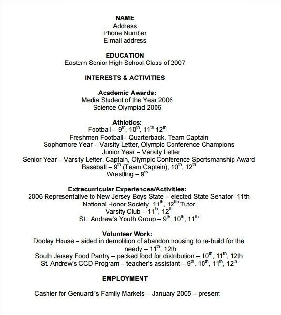 beautiful recent college graduate resume template word gallery