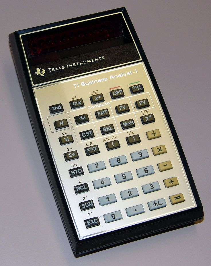 https://flic.kr/p/tMUpL9 | Vintage Texas Instruments TI Business Analyst I Electronic Pocket Calculator, Made In USA, Circa 1979