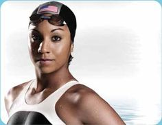 """Maritza """"Ritz"""" Correia is the First African American to be on Olympic Swim Team. She also became  the First Black U.S. swimmer to set an American and World Swim Record!"""