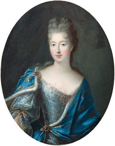 Françoise-Marie de Bourbon (1677-1749), Légitimée de France, daughter of Louis XIV and Madame de Montespan; as Duchess of Chartres (1692-1701)