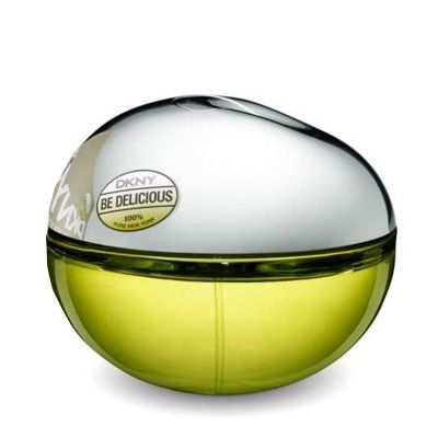 Disfruta del aroma fresco de la fragancia DKNY Be Delicious edp 100 ml.
