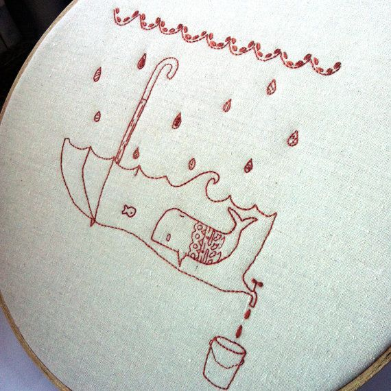 Chester and Wilbur Embroidery pattern