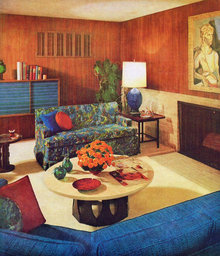 Living room design, 1965