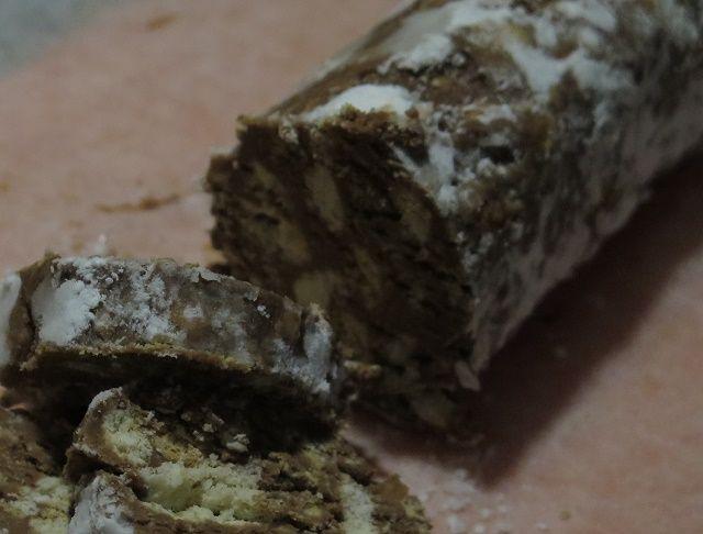 Salamino+al+mascarpone+e+cioccolato