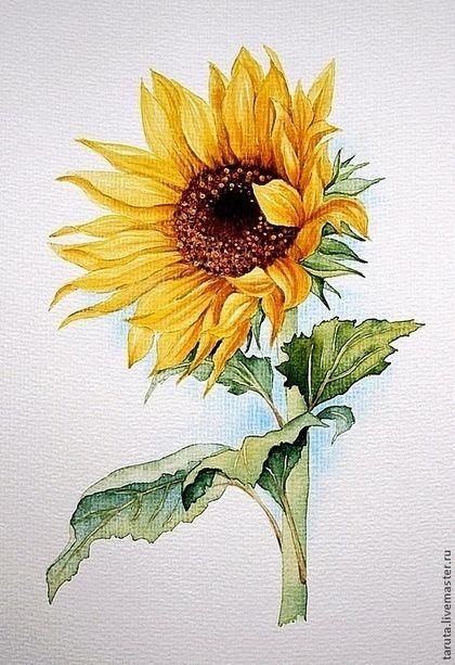 Flower Art Painting Easy
