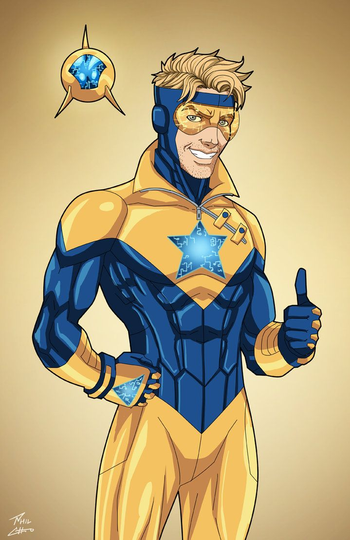 Booster Gold (Earth-27) commission by phil-cho on DeviantArt