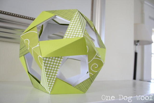 67 best Оригами-додекаэдры images on Pinterest | Modular ... - photo#30