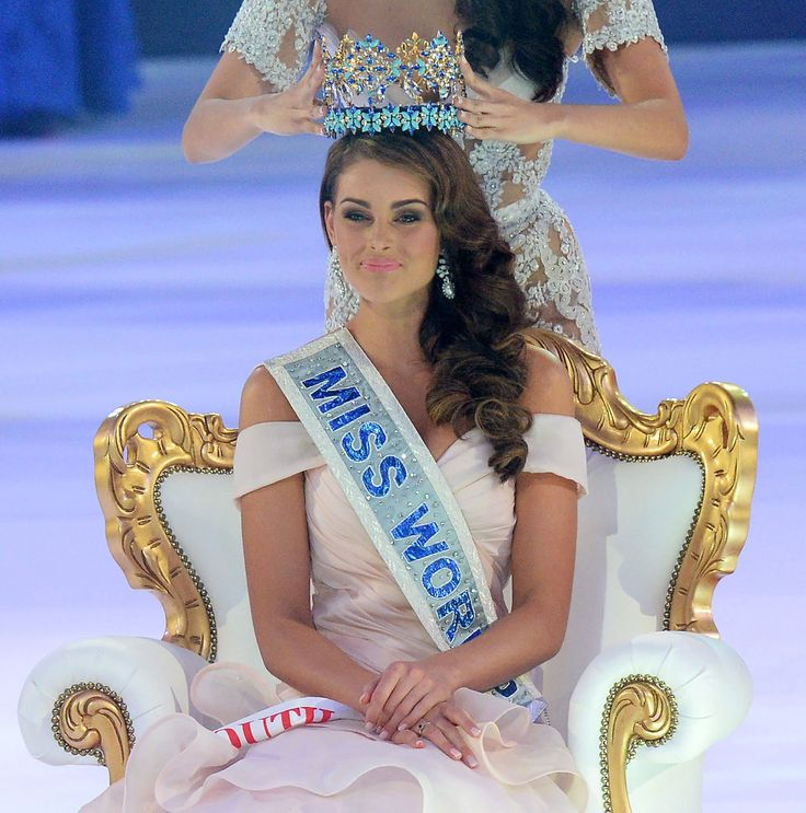 Rolene Strauss - Miss World 2014 - Miss South Africa I'm just soo proud of her she's made our country very proud♥