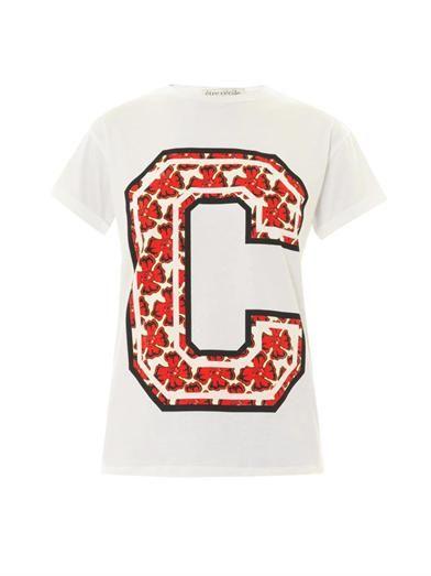 Shop now: Etre Cecile Tropical C-Print T-shirt