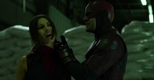 Elektra nella seconda stagione di Daredevil