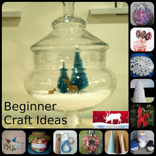 1000+ Images About Easy Christmas Crafts On Pinterest