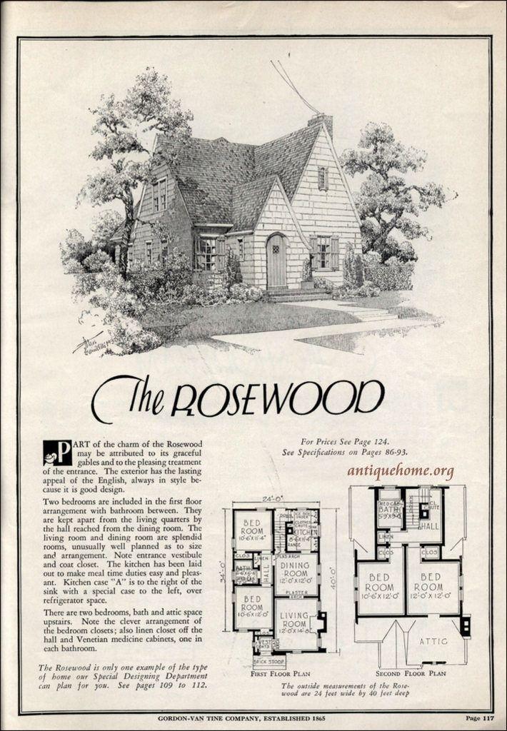 1931 Gordon Van Tine by L > R    Via Flickr: Plan Cut Homes