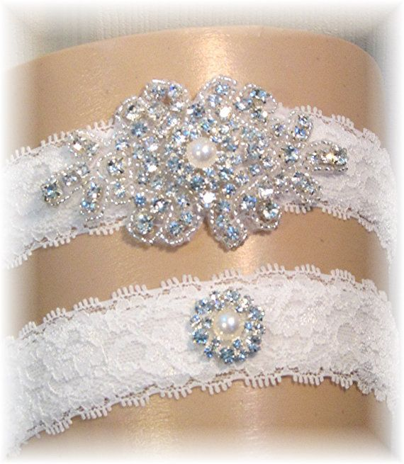 Vintage Style Lace Wedding Garter