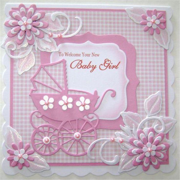 День военно, скрапбукинг открытка для новорожденной девочки