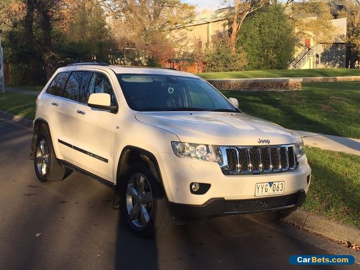 Fully loaded 2012 Jeep Grand Cherokee 3.0L CRD Overland #jeep #grandcherokee #forsale #australia