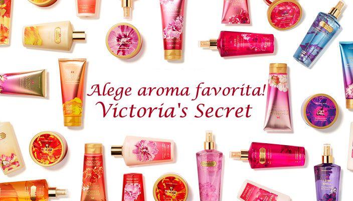 Acorda si tu o atentie deosebita senzualitatii si frumusetii feminine cu produsele Victoria`s Secret! Comanda pe www.pinq.ro si ai transport gratuit la comenzi mai mari de 200 de lei!