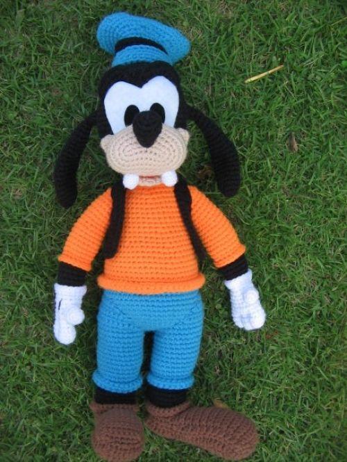 Amigurumi Pateta Super Grande - Padrão De Crochê Livre & Tutorial (Belas Habilidades - Crochê Tricô Quilting)