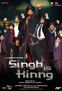Singh Is Kinng - action comic caper about Happy Singh, a Punjabi villager who goes through a series of misadventures and eventually becomes the Kinng of the Australian underworld.