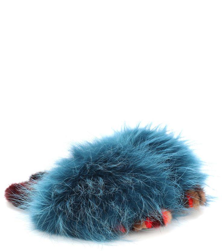 Mr & Mrs Italy fur slide