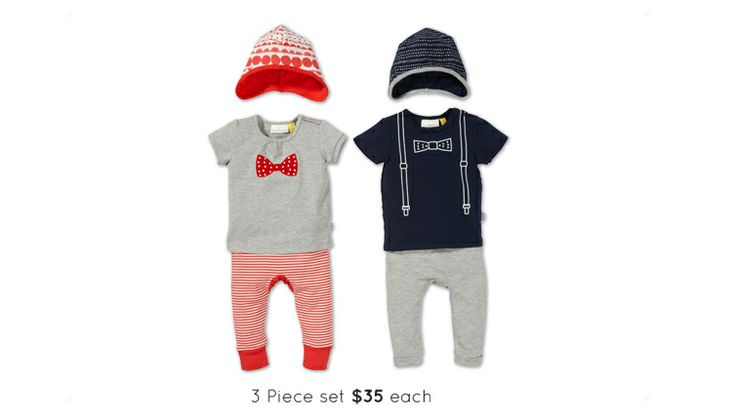 Sweet onsies for Newborn from The Kidstore