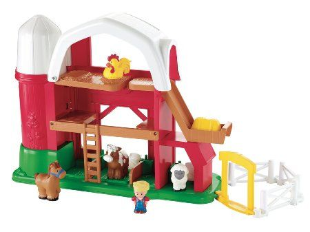 Fisher-Price Little People Animal Sounds Farm-French