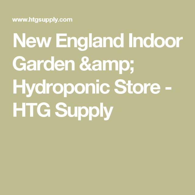 New England Indoor Garden & Hydroponic Store - HTG Supply