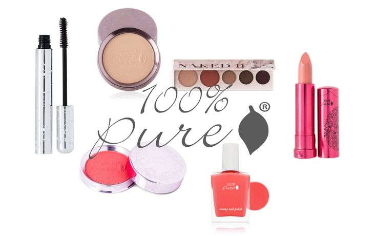 100% Pure cruelty free cosmetics