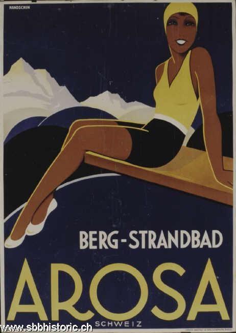 Arosa Berg-Strandbad - Berg-Strandbad Arosa Schweiz -