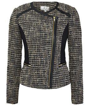 Tweed Biker Jacket £169