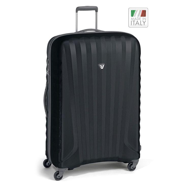 Großer #Koffer Roncato Uno Zip ZSL bei Koffermarkt: ✓leicht ✓Polycarbonat-Rahmenkoffer ✓4 Rollen ✓schwarz oder silber  ✓TSA-Schloss ⇒Jetzt kaufen
