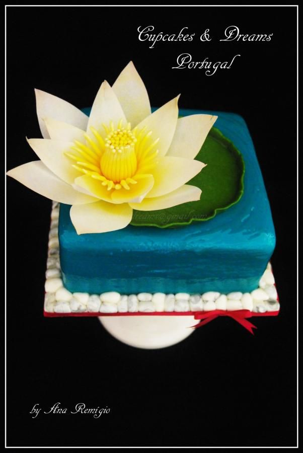 WATER LILY by Ana Remígio - CUPCAKES & DREAMS Portugal