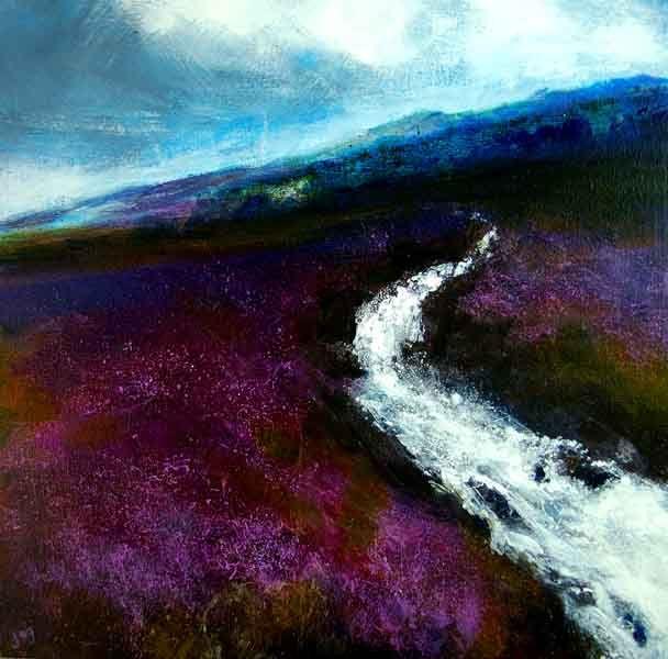 Irish Landscape 'After the Rain' Irish Landscape painting Irish Art