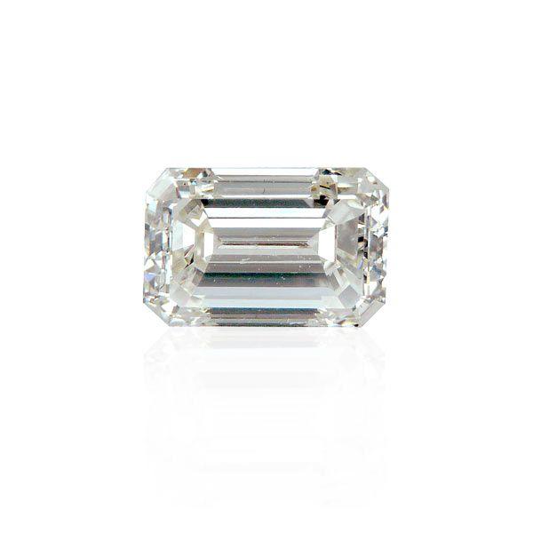 1,01ct Diamant Smaragdschliff Diamant HRD Zertifikat si1/K
