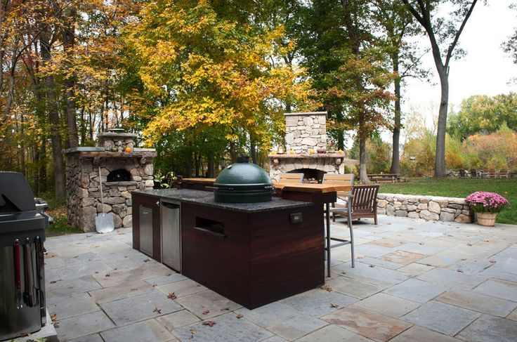 This Is An Amazing Outdoor Set Up Big Green Egg