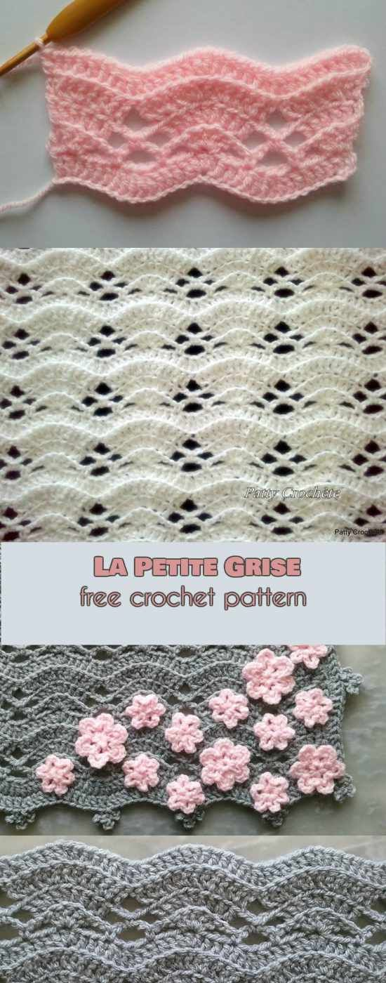 La Petite Grise Free Crochet Pattern Follow us for ONLY FREE crocheting patterns for Amigurumi, Toys, Afghans and many more!