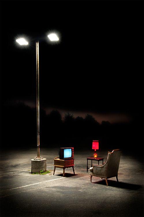 PERIOD/MOOD: Stark lighting, and minimal furniture for past in juxtaposition with futures abundance of high-tech furniture and lighting. Shows the past was about the minimal necessities and entertainment, while the future is full of opportunity and sleek designs. Because of the advancements from the future the things they own and have can be focused on looks as well as their practical uses unlike the past.