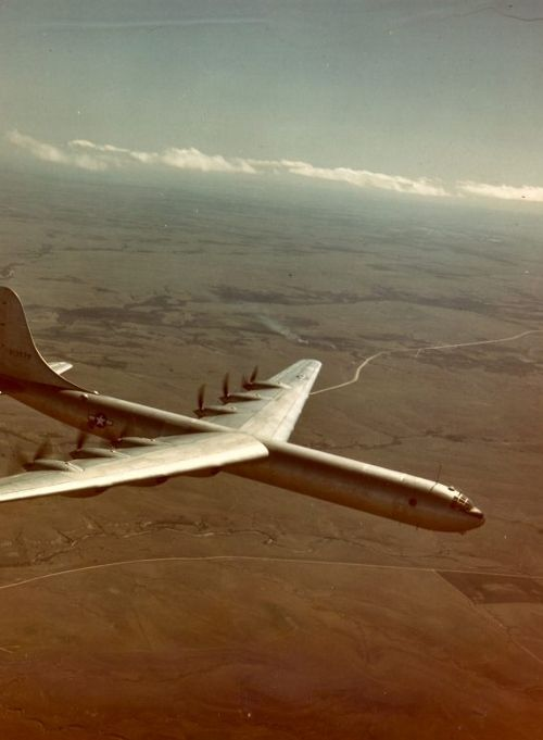 The Convair XB-36, circa 1946