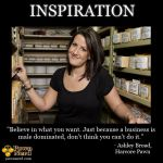 Ashley is paving the way for strong and intelligent women to conquer the pawn industry.    http://www.pawnnerd.com/inspired-by-ashley-broad/