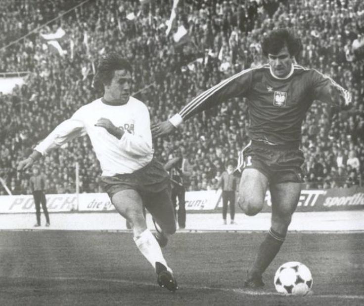 Włodzimierz Smolarek, 1981 (POLONIA) Vs D.D.R.