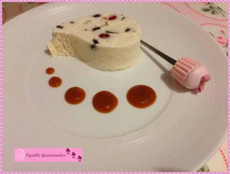 Nougat glacé et coulis d'abricots - Battle Food #23